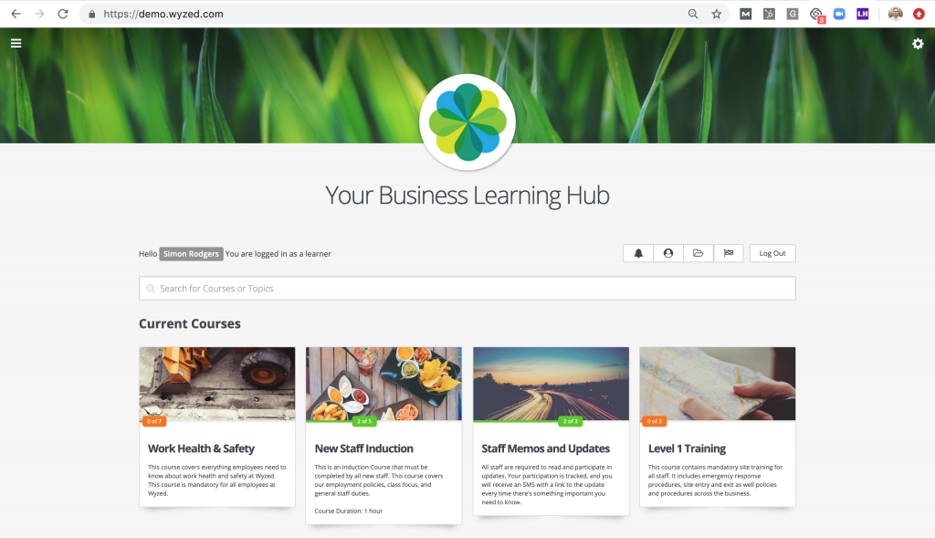 It's easier than you think to create and deliver your own beautiful online courses like this!